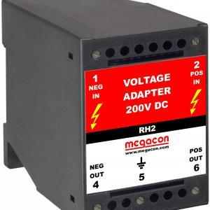 RH2 Voltage Adapter 60-200VDC, SELCO USA