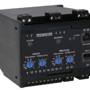 KCM165 Insulation Monitor, System Voltage up to 25kVAC, Output Relays, Optional Analog Output
